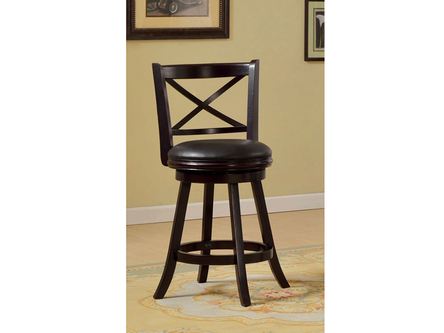 Barnes Espresso 24 Inch Swivel Bar Stool Shop For