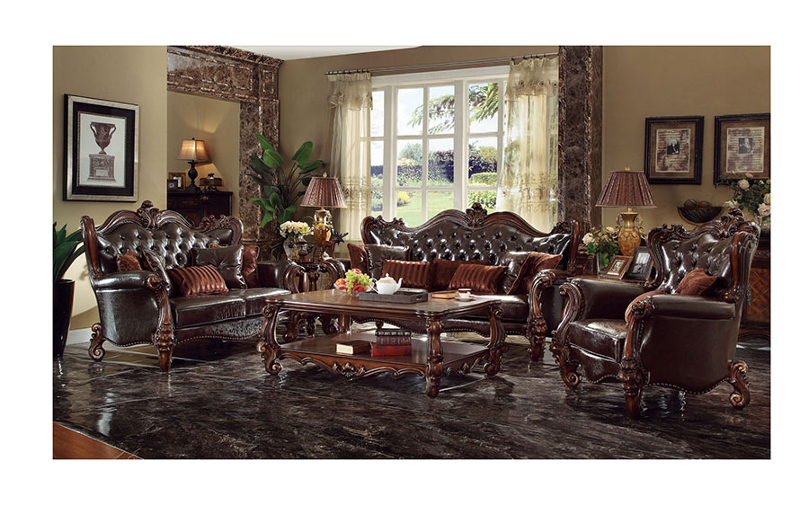 Versailles Dark Brown Sofa Set - Shop for Affordable Home Furniture ...