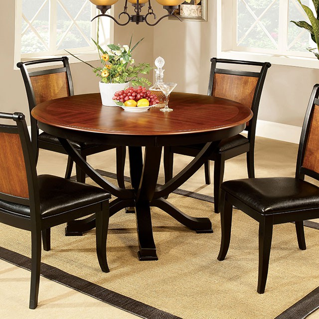 Salida Acacia Black 48round Dining Table Set Shop For Affordable