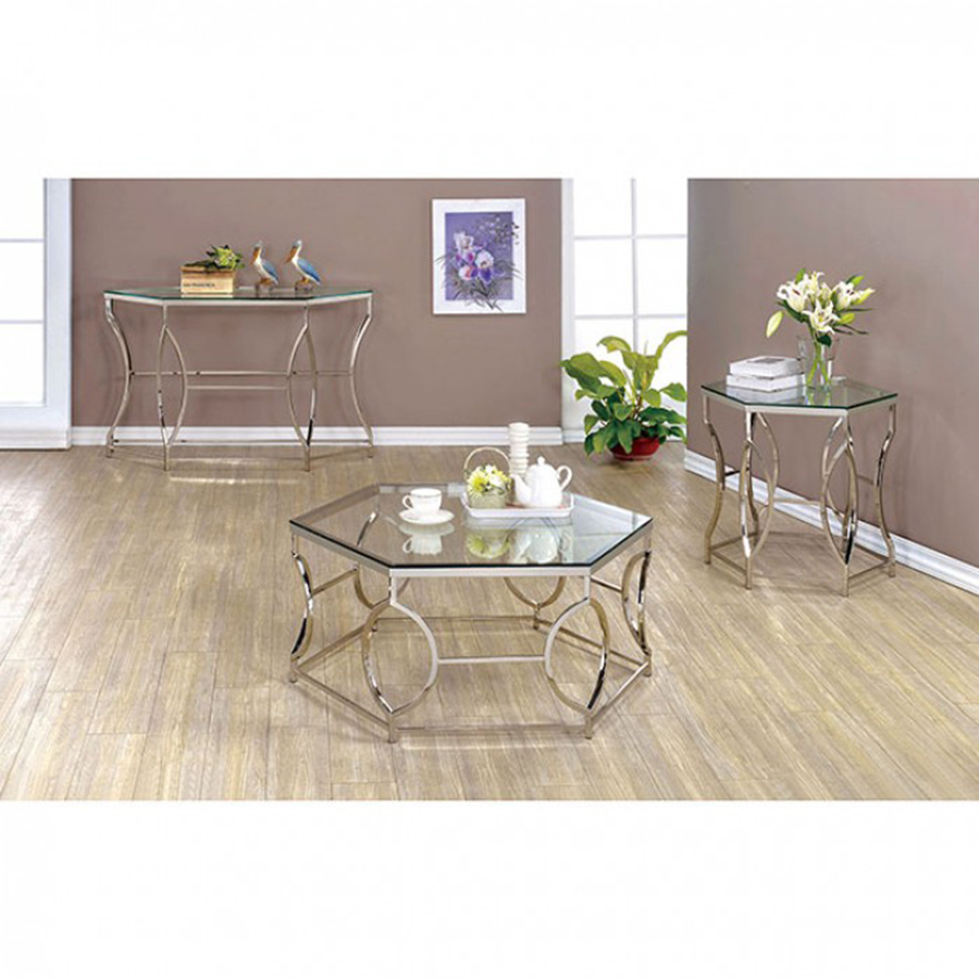 Zola chrome coffee table geotapseo Image collections