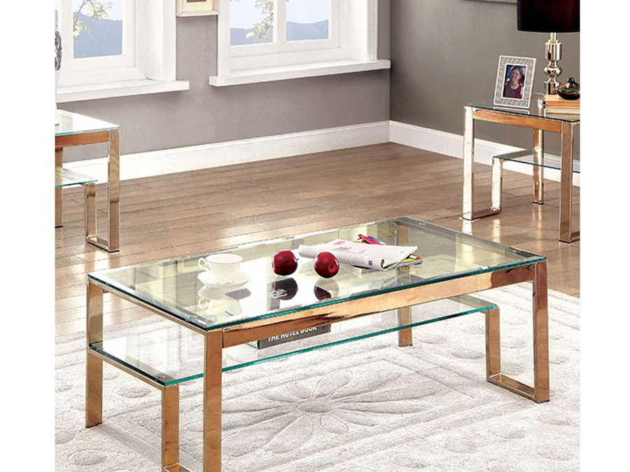 Nikita Champagne Coffee Table