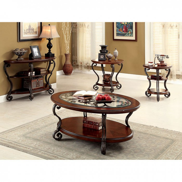May Brown Cherry Coffee Table - Shop for Affordable Home Furniture ...