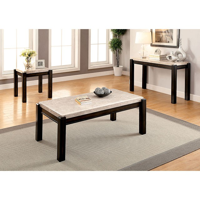Ivory Stone Oval Coffee Table: Gladstone Ivory Coffee Table