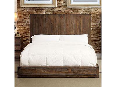 Amarante Rustic Natural Tone Cal.King Bed