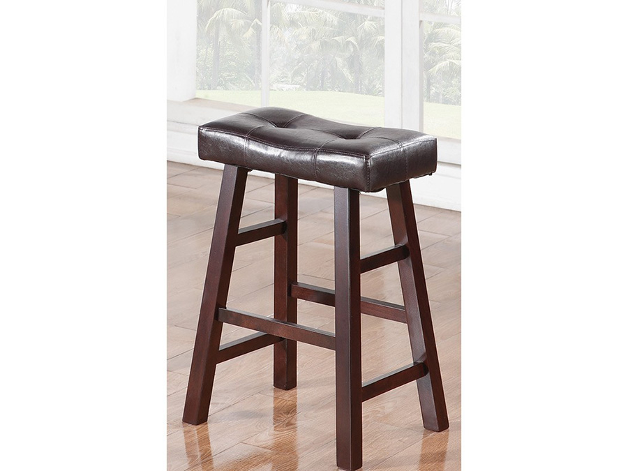 2pcs Dark Cherry Counter Stool Shop For Affordable Home