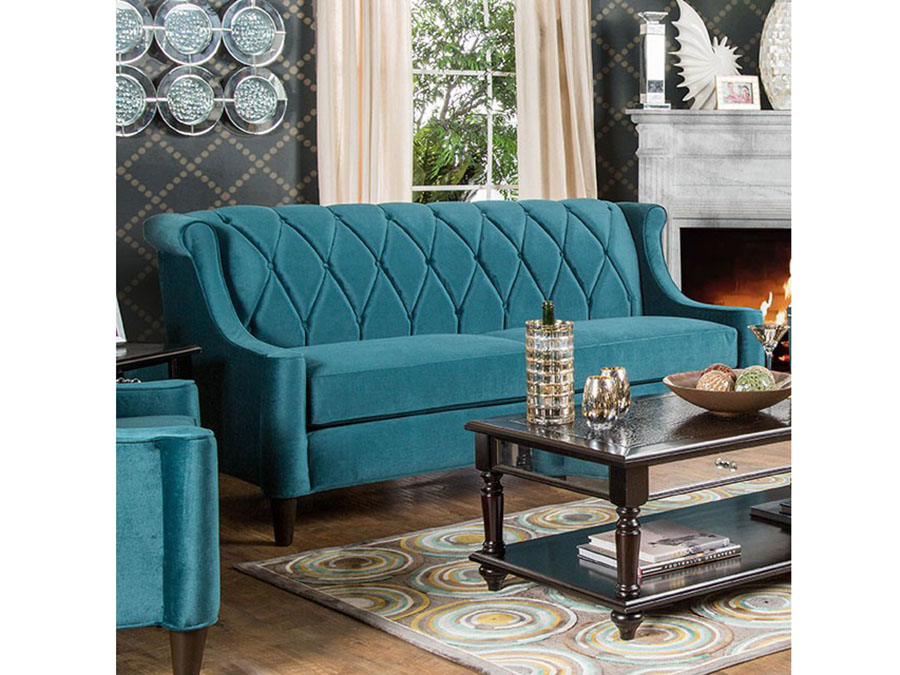 Limerick Dark Teal Sofa