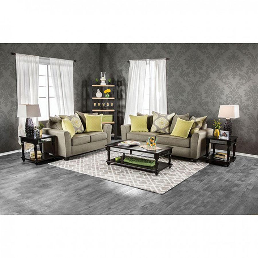 Macroom Gray Sofa Set