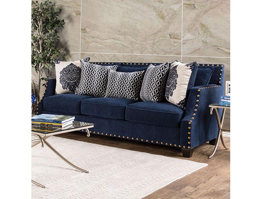 Cornelia Navy Sofa - Shop for Affordable Home Furniture, Decor ...