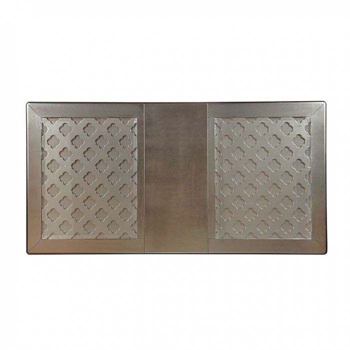 bc62d6204e Amina Contemporary Silver Dining Set - Shop for Affordable Home ...
