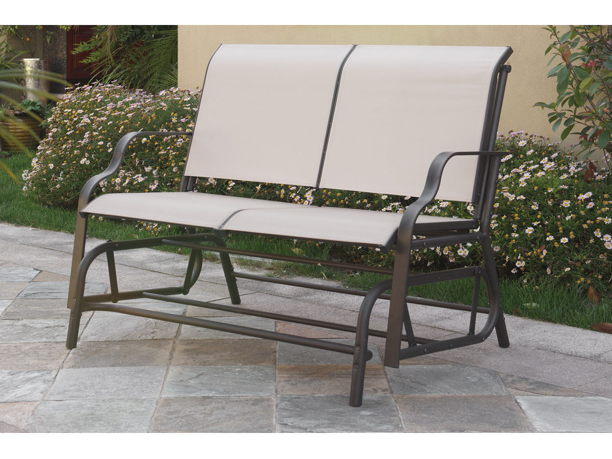 Outdoor Loveseat Glider Shop For Affordable Home Furniture Decor Outdoors And More