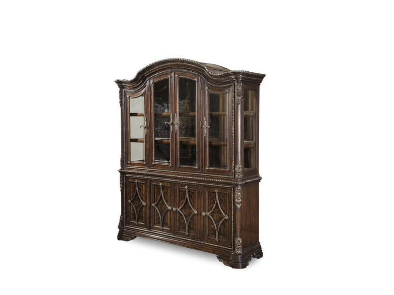 Gables 18th Century Cherry China Cabinet. - Gables 18th Century Cherry China Cabinet. - Shop For Affordable Home