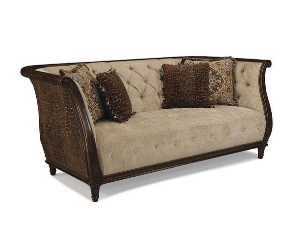 Ava Adele Tufted Back Sofa