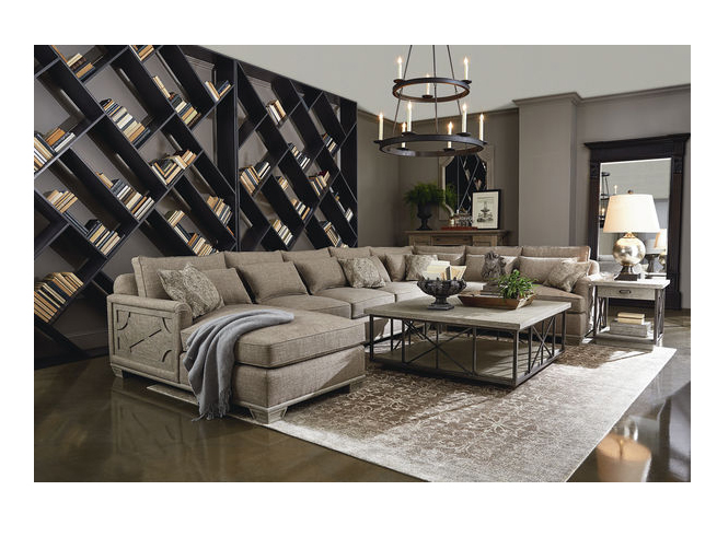 Incredible Arch Salvage Jardin Sectional Unemploymentrelief Wooden Chair Designs For Living Room Unemploymentrelieforg