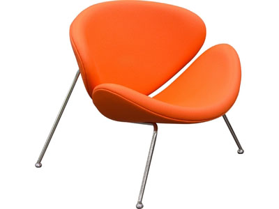 Brilliant 2Pcs Roxy Orange Classy Artificial Durable Leather Chair Pdpeps Interior Chair Design Pdpepsorg