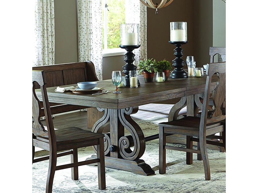 Toulon Rectangular Trestle Dining Set - Shop for Affordable Home ...