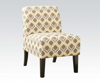 Awesome Ollano Yellow Gray Fabric Accent Chair Andrewgaddart Wooden Chair Designs For Living Room Andrewgaddartcom