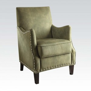 Sinai Olive Fabric Accent Chair