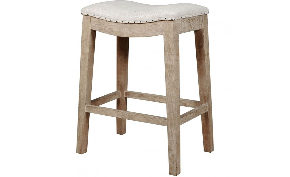 Essentials Harper Stone Wash Counter Stool Shop For