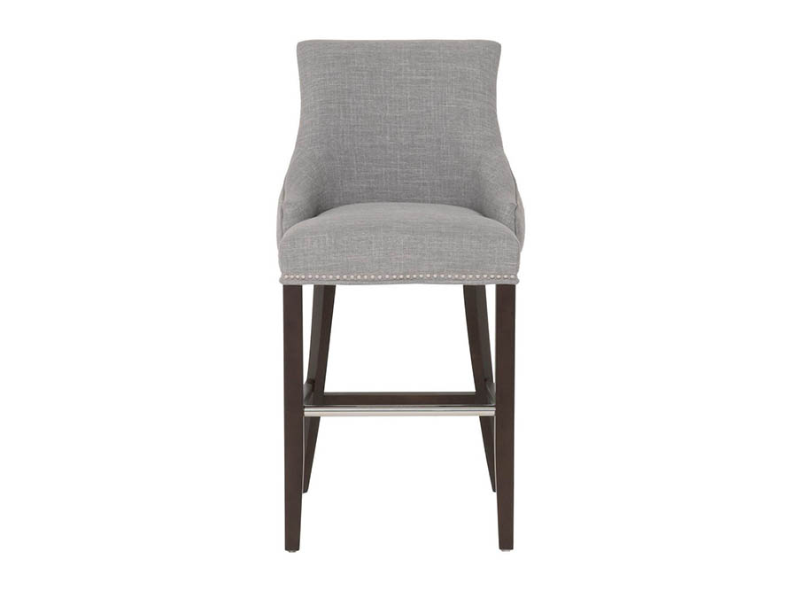 Avenue Espresso Smoke Barstool Shop For Affordable Home