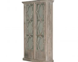 Bella antique bourges display cabinet1