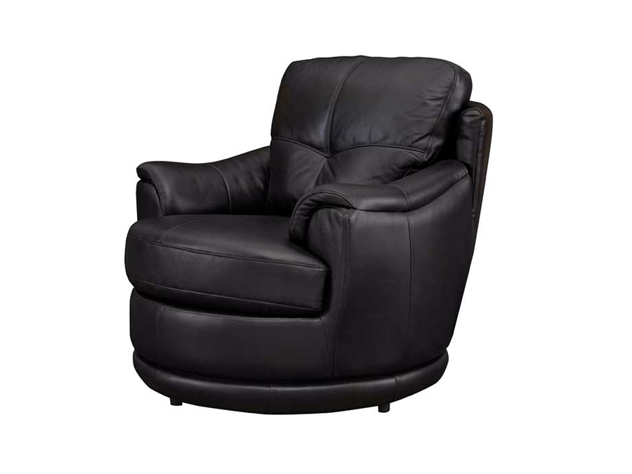 black leather recliner armchair globe swivel chair shop for affordable home furniture 11223 | Globe black