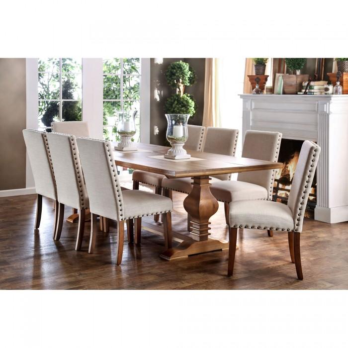 Macapa Transitional Oak Dining Set