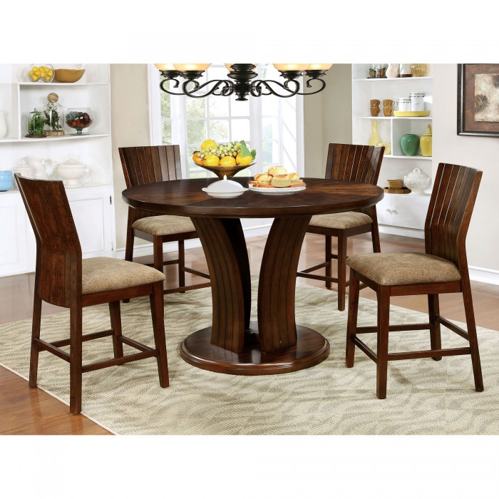 Montreal ii counter height round dining set shop for for M furniture montreal