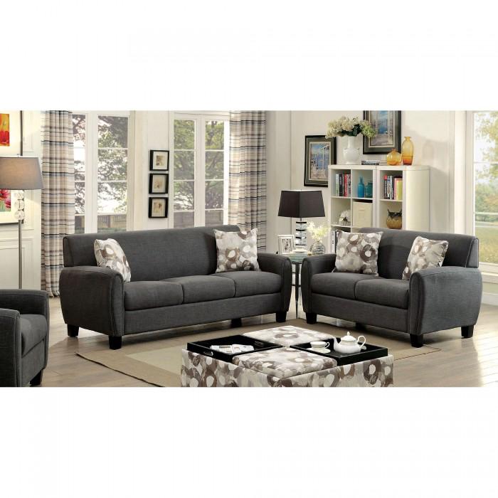 Good Liana Gray Sofa Set