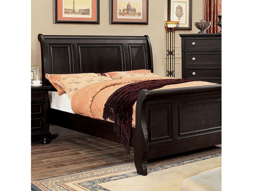 Argusville Espresso Queen Bed Shop For Affordable Home Furniture