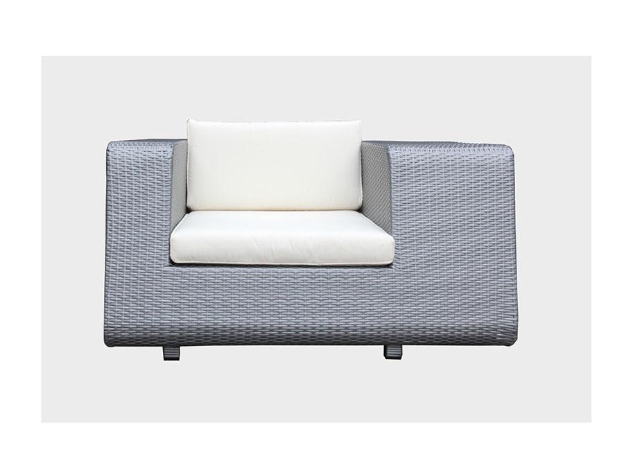 Outdoor Silver Sofa Set