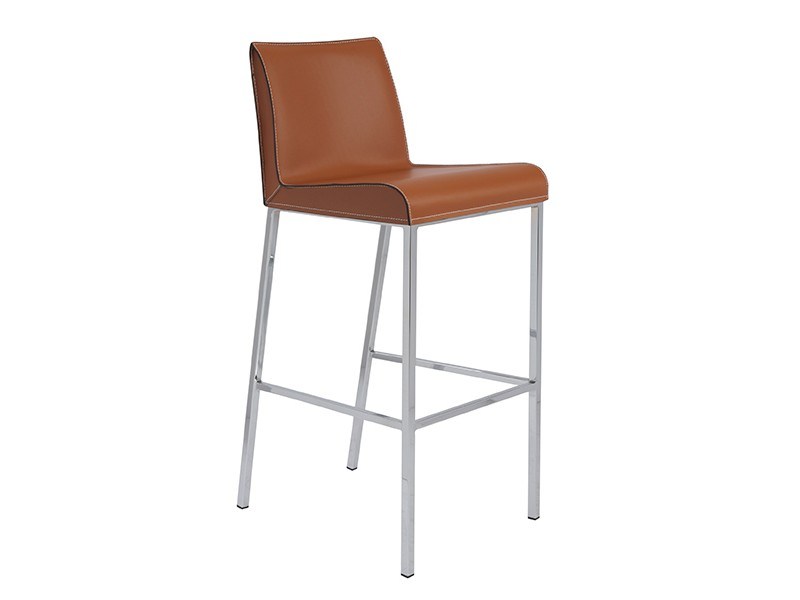 2pcs Cam B Bar Stool In Cognac Shop For Affordable Home