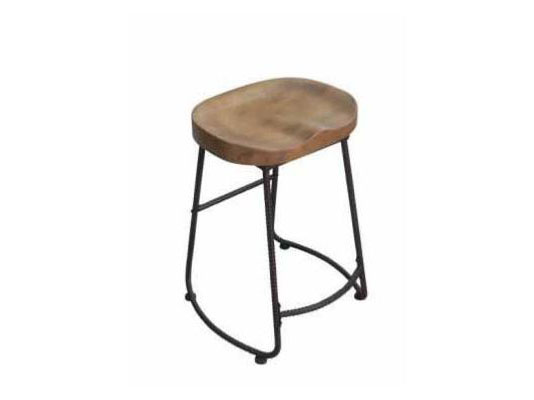 Dark Bronze Finish Counter Height Stool Shop For