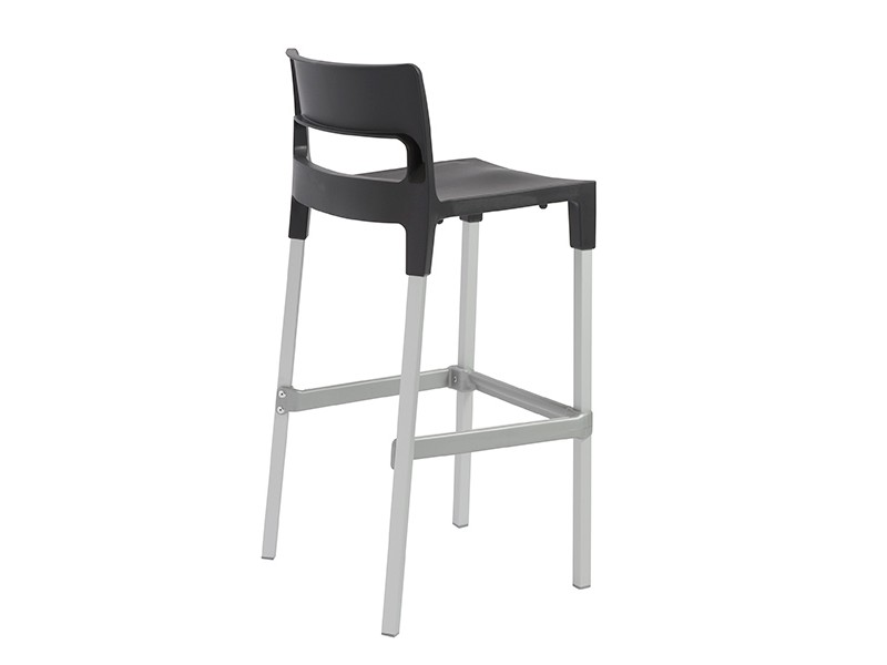 4pcs Divo B Bar Stool In Anthracite Shop For Affordable