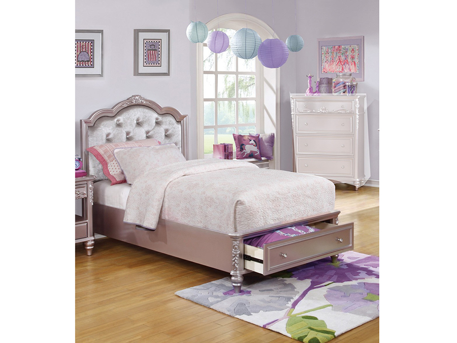 Queen Storage Bed W Diamond Tufted Headboard Shop For Affordable Home Furniture Decor