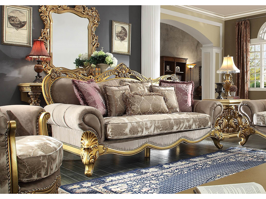 sofa in antique gold shop for affordable home furniture decor outdoors and more. Black Bedroom Furniture Sets. Home Design Ideas