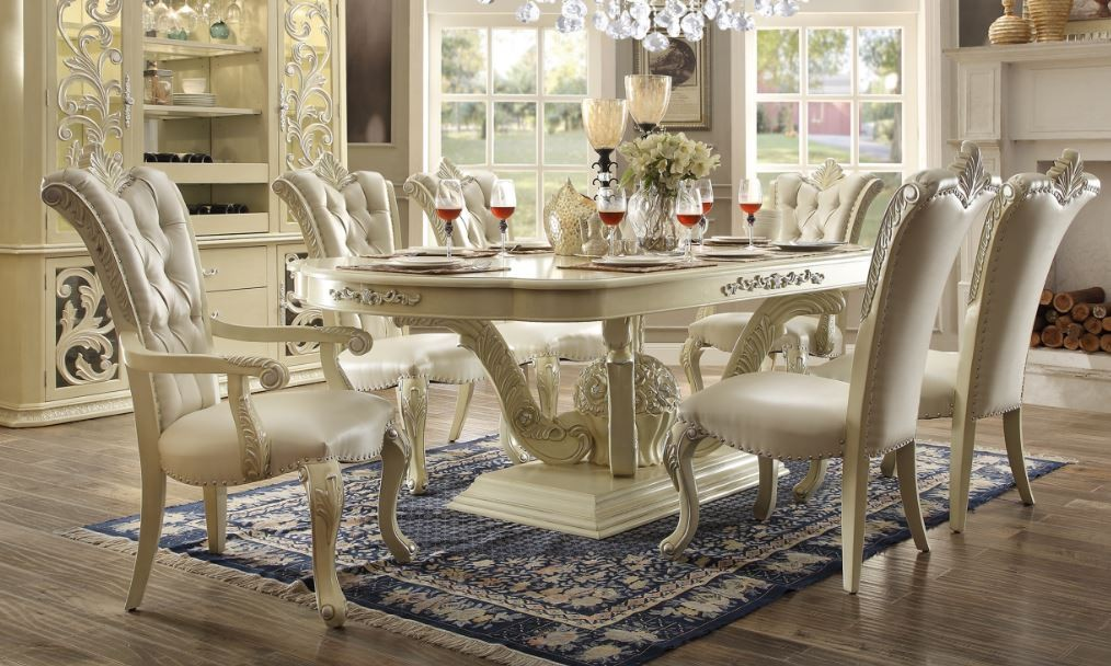 Dining Set In Antique White Shop For Affordable Home Furniture