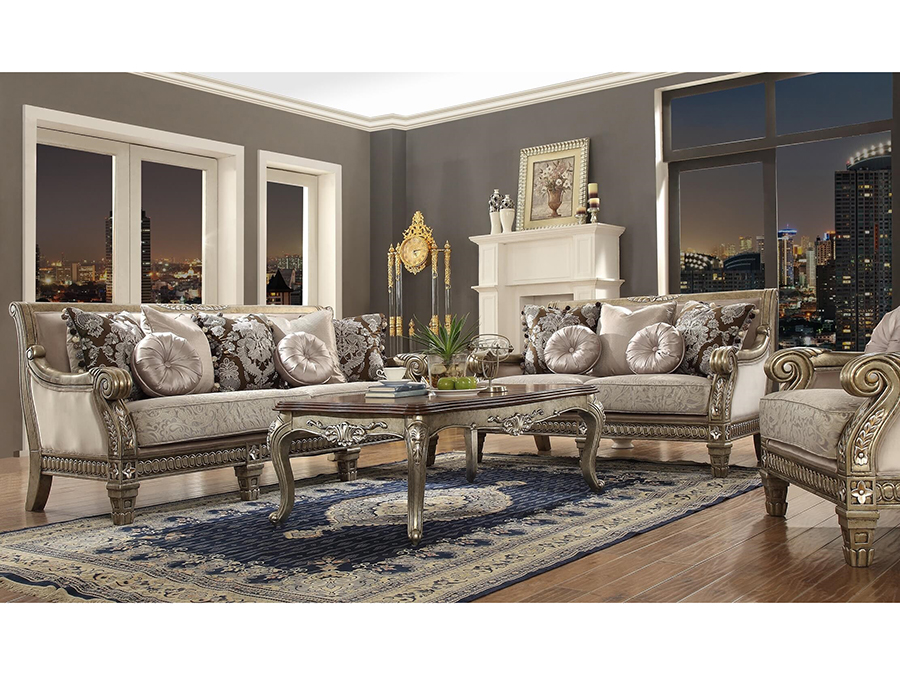 Sofa Set In Cream