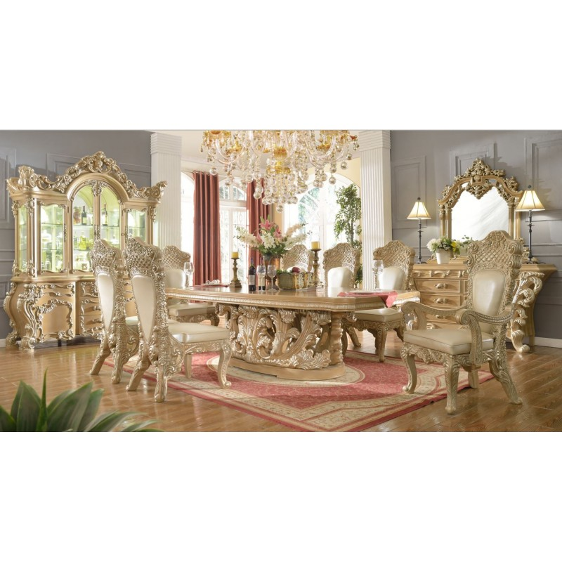 Charmant Dining Set In Beige