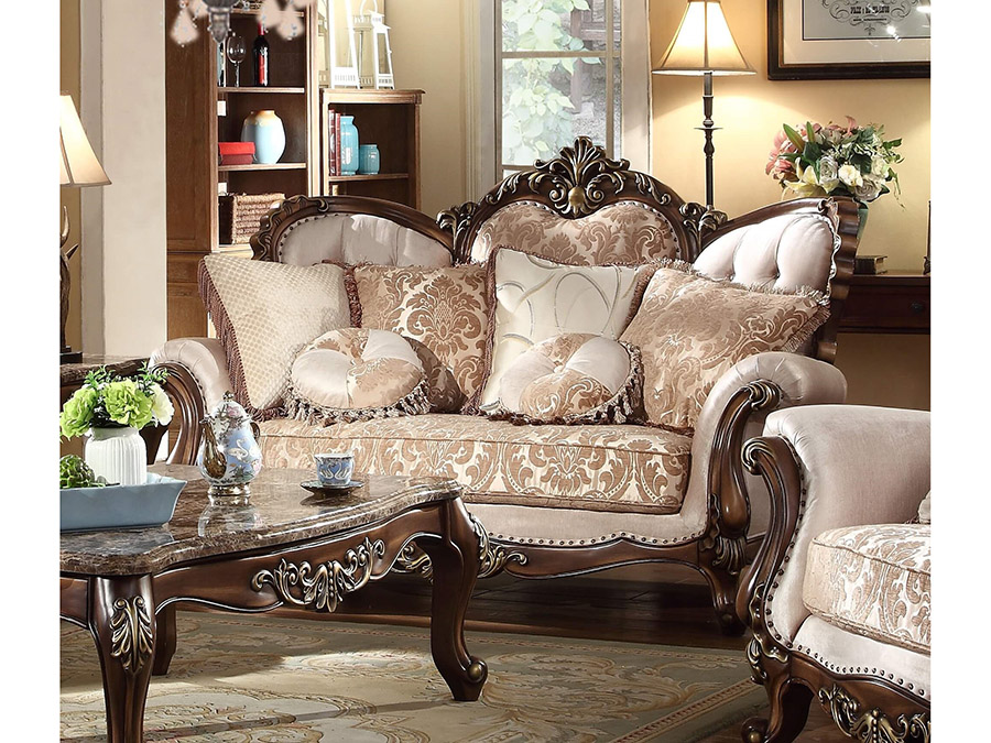 Renaissance 2pcs Sofa Set