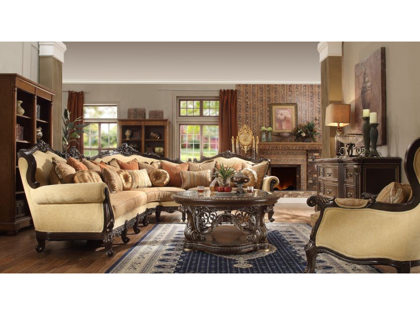 Sectional Set In Beige