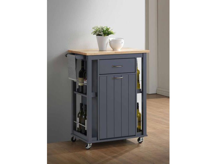 Small Kitchen Island with Casters