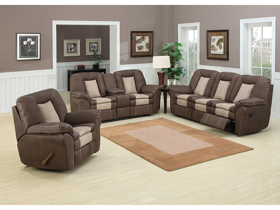 2pcs sofa set carson shop for affordable home furniture for Cheap reclining living room sets