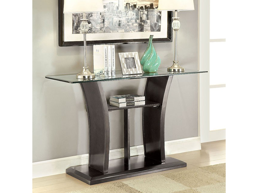 Manhattan IV Gray Sofa Table