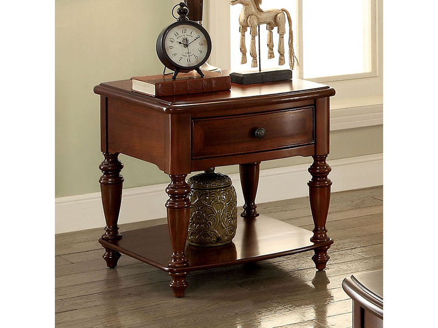 Samira Walnut End Table Shop For Affordable Home Furniture Decor