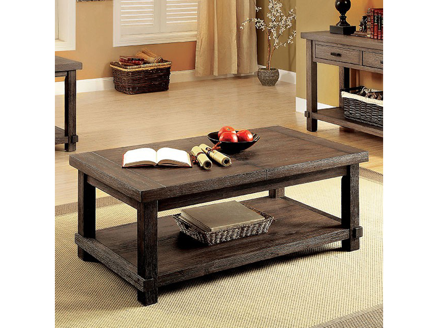 Mara Dark Walnut Coffee Table