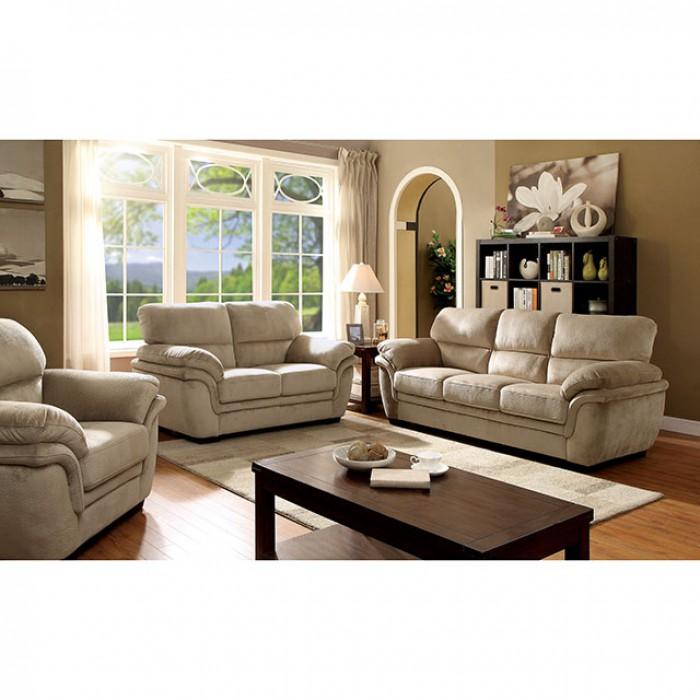 Jaya Light Brown Sofa Set
