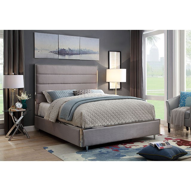 Gillian Grey Queen Bed - Shop for Affordable Home Furniture, Decor ...