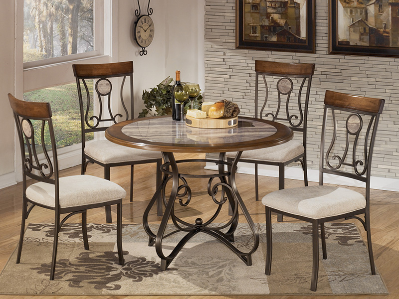 Hopstand 5Pcs Dining Set