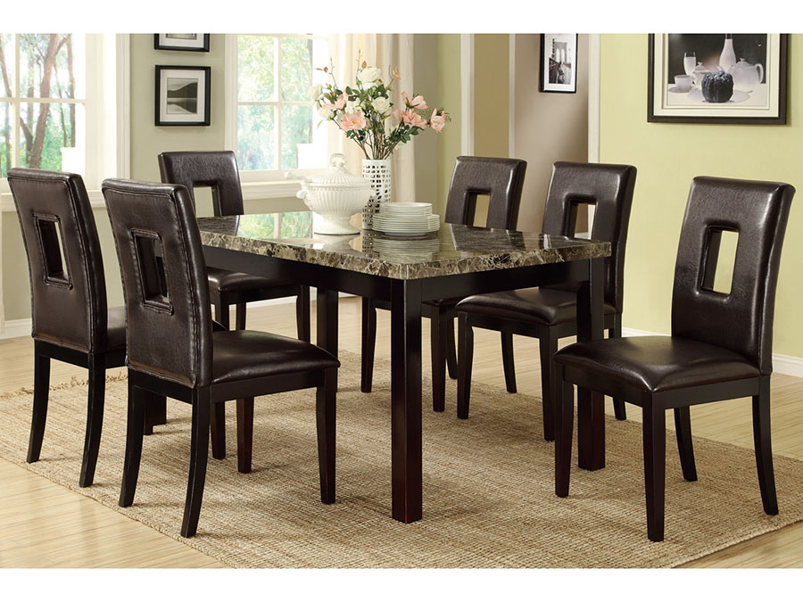 2d13c56be3c25 Dining Set In Dark Brown - Shop for Affordable Home Furniture