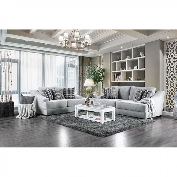 Light Gray Sofa Set Furnitures Unique